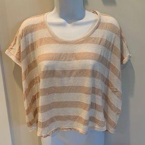 Aqua brand - cropped cotton summer sweater